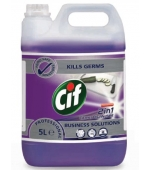 CIF PROFESSIONAL 2IN1 CLEANER DISINFECTANT CONCENTRATE 5L