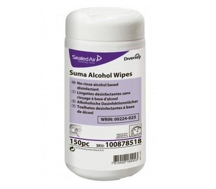 SUMA ALCOHOL WIPES 150 SZT