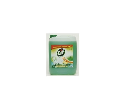 CIF PROFESSIONAL DISHWASH EXTRA STRONG LEMON 5L
